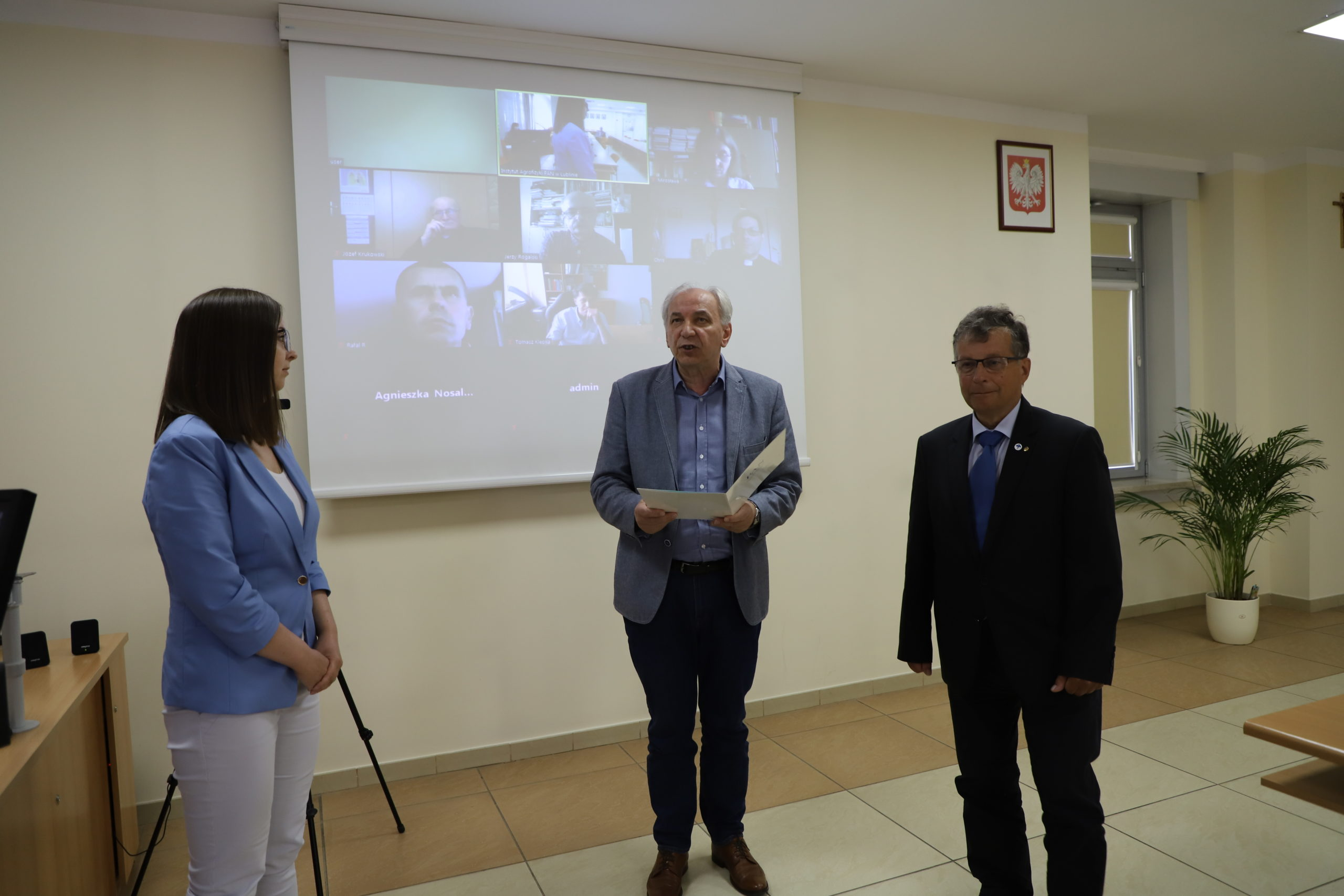7 lipca 2020 r., Wyróżnienie Prezesa Oddziału PAN w Lublinie za najlepszą pracę naukową